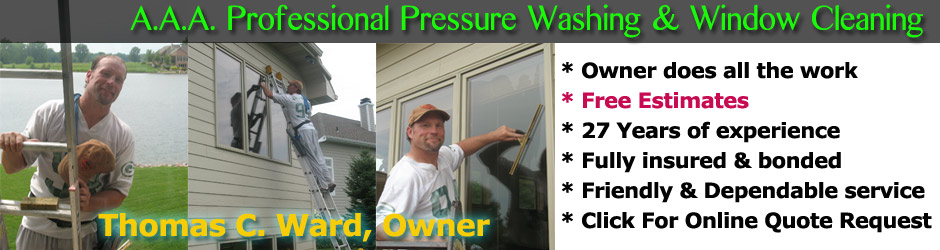 Welcome To Aaa Professional Pressure Washing Amp Window Cleaning